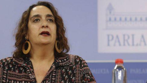 Ángela Aguilera, de Adelante Andalucía (EP).