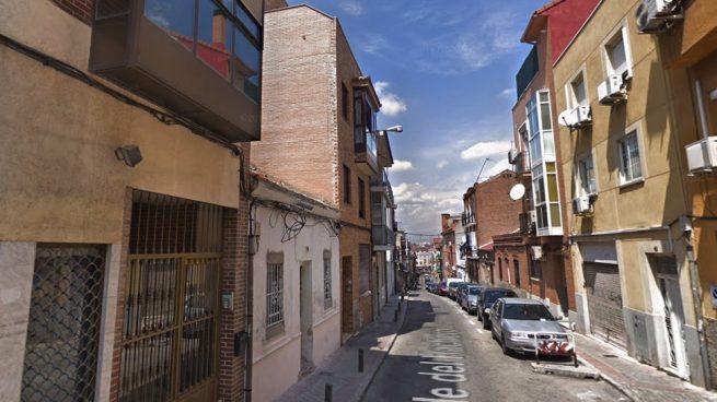 Bloque de Vallecas donde está fijado un desahucio este viernes. (Foto. GMaps)