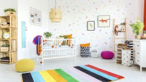Cómo decorar paso a pasos las paredes de una habitación para el bebé