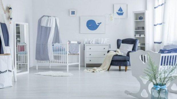 decorar paredes habitación bebé