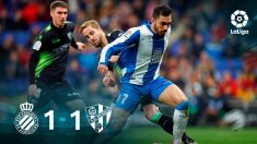 Espanyol – Huesca: jornada 25 de La Liga Santander.