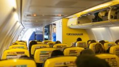 Trabajadora de Ryanair (Foto: iStock)