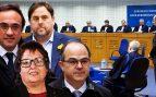 """El fallo europeo que desmonta a Junqueras, Rull, Turull y Bassa: """"Conocían su responsabilidad penal"""""""