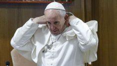 El Papa Francisco en la cumbre para tratar los abusos (AFP).