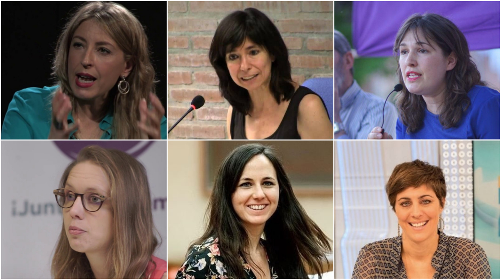 Posibles candidatas alternativas a Íñigo Errejón.