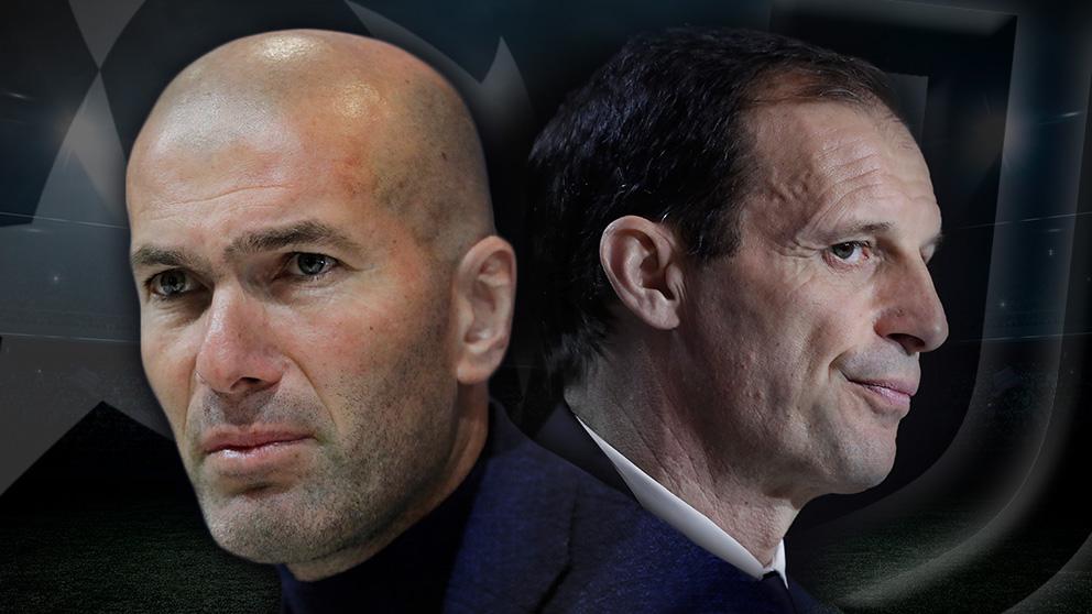 Allegri está en la cuerda floja y la Juve piensa en Zidane.