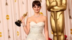 Penélope Cruz recoge el Premio Oscar