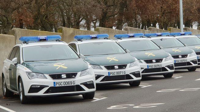 Los nuevos coches de la Guardia Civil