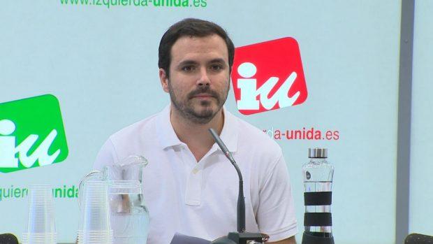 El coordinador federal de IU, Alberto Garzón. (Foto: Europa Press)