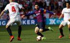 Sevilla – Barcelona: Gol de Mercado (2-1)