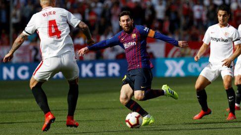 Liga Santander 2018-19: Sevilla – Barcelona | Partido de hoy de La Liga, en directo.