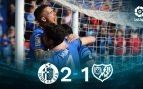 Getafe – Rayo Vallecano: resultado, resumen y goles (2-1)