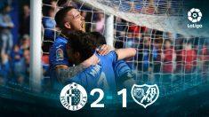 Getafe – Rayo Vallecano: partido de la jornada 25 de la Liga Santander.