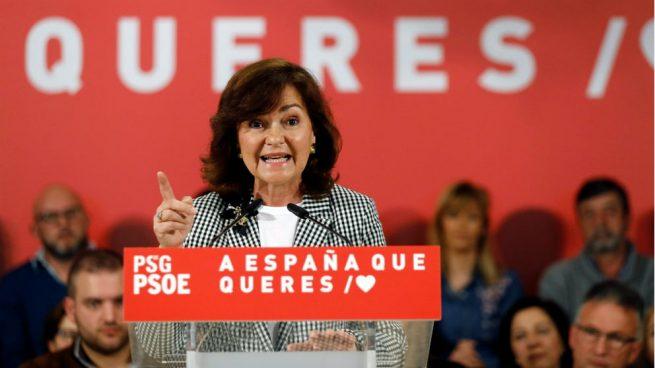 Calvo reivindica al PSOE como «garantía de la Constitución» pese a la traición del relator