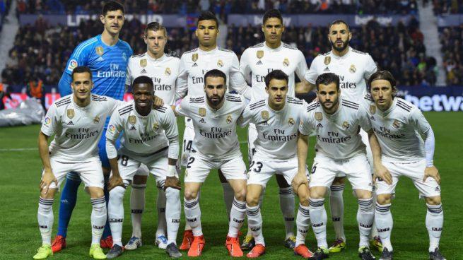 5a86c3820ca8c Levante - Real Madrid  Puntúa a los jugadores del Real Madrid contra ...