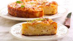 Receta de pastel de bacalao y coliflor