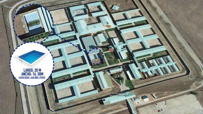 El Gobierno se gasta 15.000 € en reformar la piscina de la cárcel de los golpistas, Rato y Bárcenas
