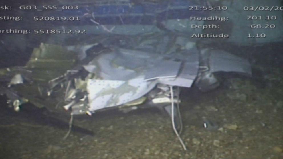 Foto del avión que transportaba a Emiliano Sala. (AAIB)