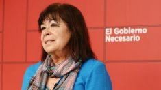 La presidenta del PSOE, Cristina Narbona. (Foto: Europa Press)