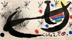 uno de los cuadro de Joan Miró que se podrán ver en la feria.