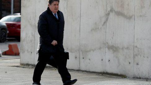 José Luis Olivas, entrando a la Audiencia Nacional