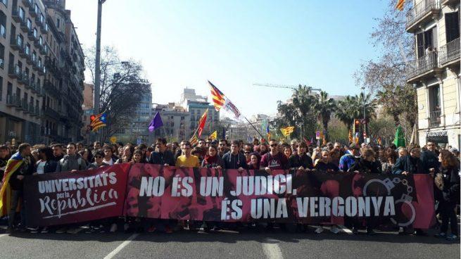 La manifestación en Madrid contra el juicio del 1-O discurrirá entre Atocha y Cibeles
