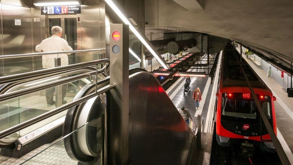 Metro de Barcelona. Foto: Europa Press