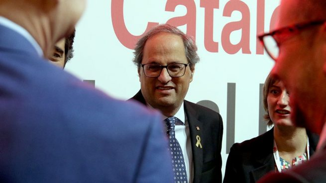 Torra fríe a inspecciones a las fortunas y empresas que huyen de Cataluña por el independentismo