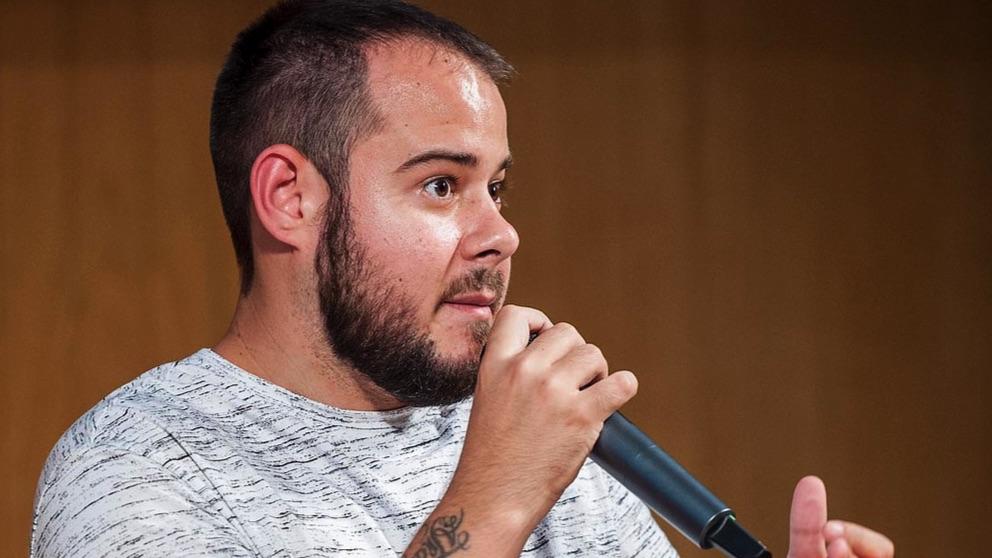 El rapero Pablo Hasél en una imagen de archivo.