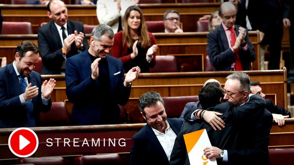 En Congreso, en directo.