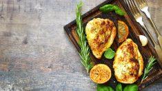 Receta de filetes de pavo con salsa de limón
