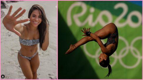 Ingrid Oliveira protagonizó un escándalo sexual en los Juegos de Río 2016.