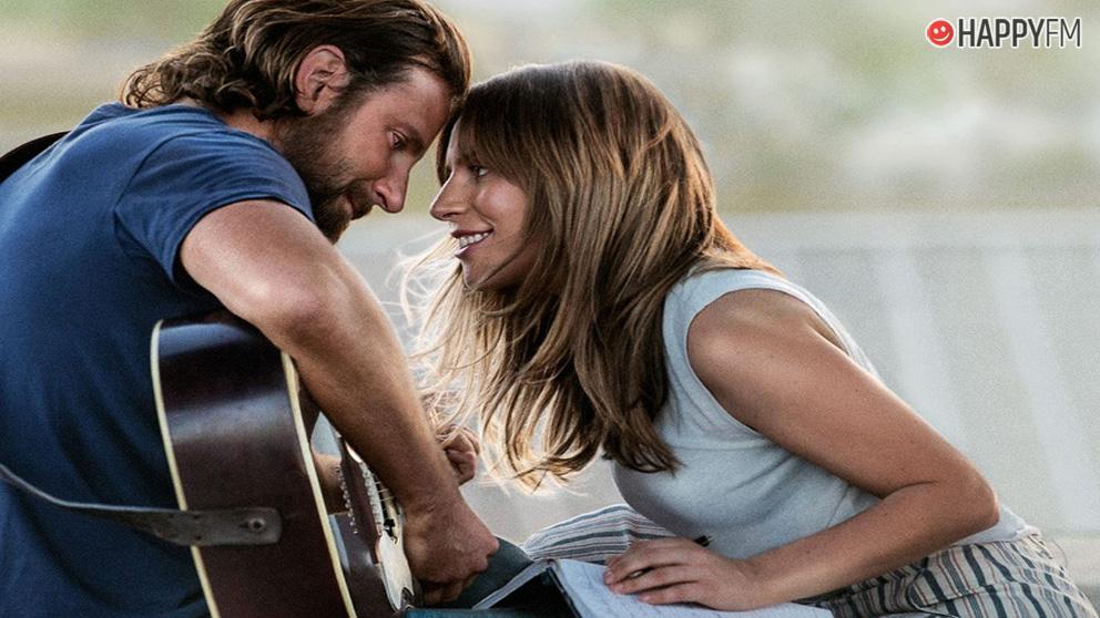 Lady Gaga y Bradley Cooper en Ha nacido una estrella