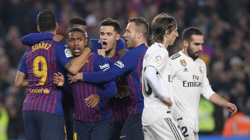 El Barcelona es el favorito en las casas de apuestas para estar en la final de Copa del Rey (AFP).