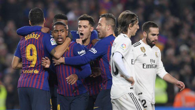 El Barça, favorito en las apuestas para ganar hoy el Clásico del Bernabéu
