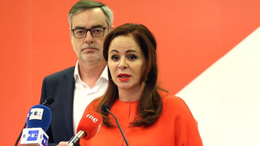 Silvia Clemente y José Manuel Villegas (Foto: Europa Press).