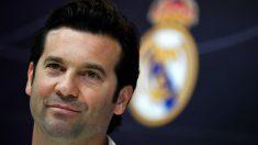 Santiago Solari compareció en rueda de prensa antes del Real Madrid – Barcelona (AFP).