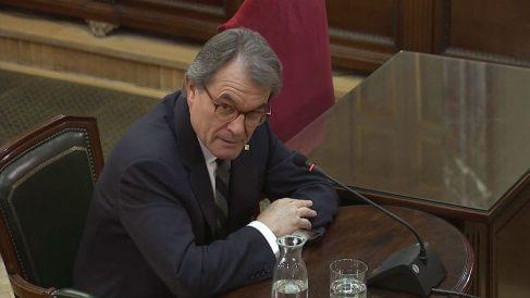 Artur Mas declara ante el Tribunal Supremo en el juicio del procés