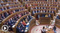 PSOE y Podemos se niegan a aplaudir en el Congreso al presidente de Perú, Martín Vizcarra, por pedir la libertad del pueblo venezolano