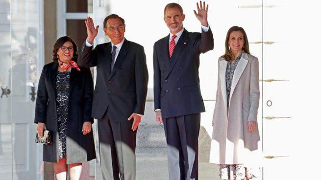 Presidente de Perú suscribe acuerdos de cooperación con España en visita oficial