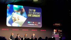 Imagen de la presentación de la intervención, en el Mobile.