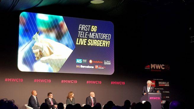 Vodafone pone la red 5G a la primera intervención quirúrgica remota del mundo