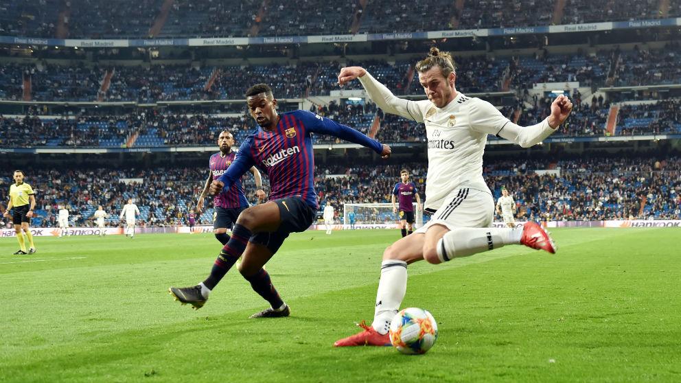 Gareth Bale, en el Real Madrid – Barcelona (Getty)
