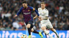 Liga Santander 2018-2019: Real Madrid – Barcelona   Partido de fútbol hoy, en directo.