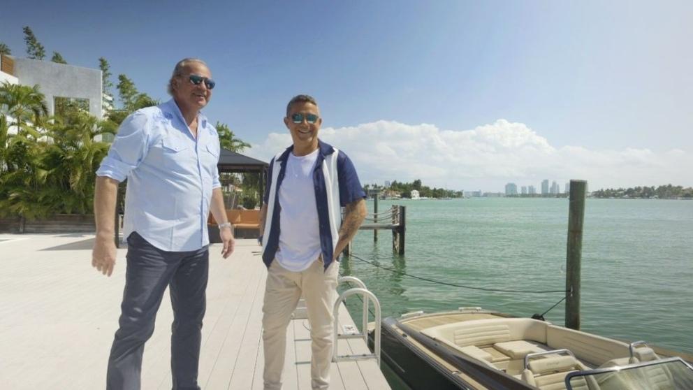 Bertín entrevistará a Alejandro Sanz en 'Mi casa es la tuya'. (Foto: Mediaset)