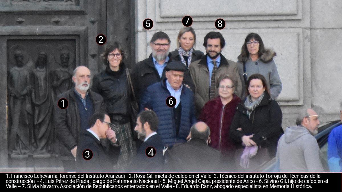 Sánchez envía al Valle a cargos de Patrimonio tras frenar la Justicia la exhumación de Franco