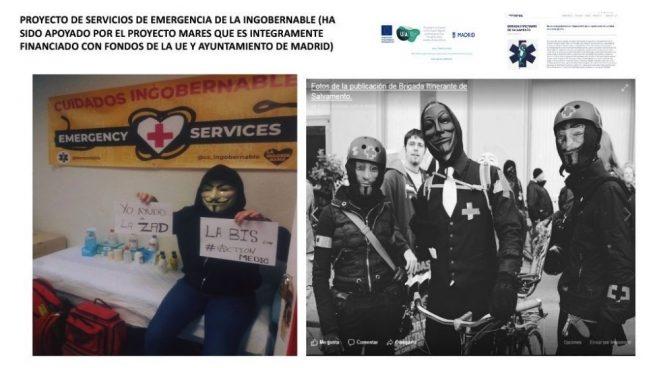 Carmena subvenciona la seguridad de los okupas del edificio de lujo del Paseo del Prado
