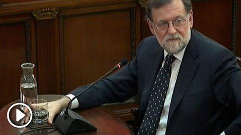 Mariano Rajoy en el Supremo. Foto: EFE