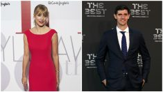 Alba Carrillo y Thibaut Courtois abrían empezado una relación. (Getty)