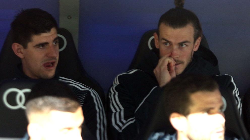 Bale en el banquillo (Foto: Enrique Falcón).